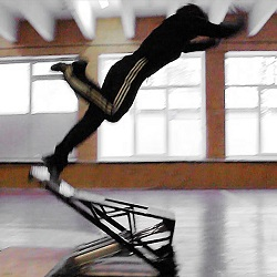 Stunt air ramp